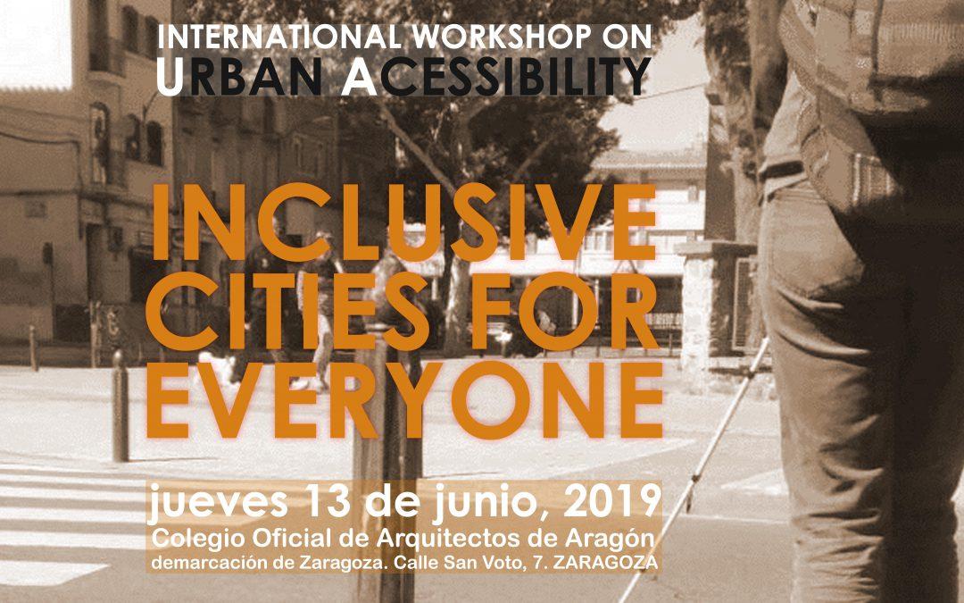 International workshop on urban accessibility