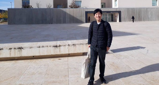 UTokyo researcher visits our university!